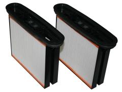 Filterkassette Klasse M 2 Stück für Feinstaubsauger Compact M